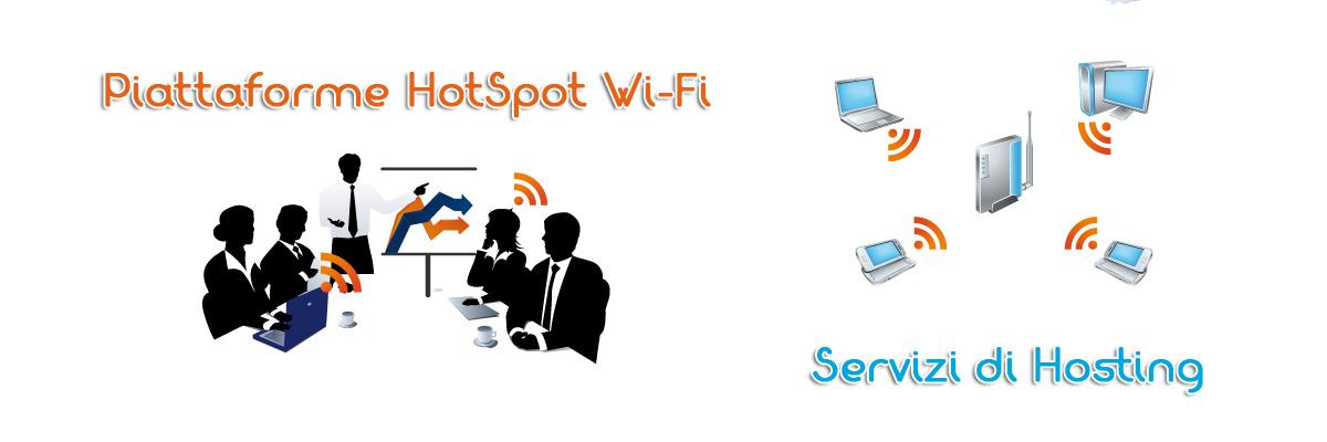 Hotspot Wi-Fi  -  Hosting